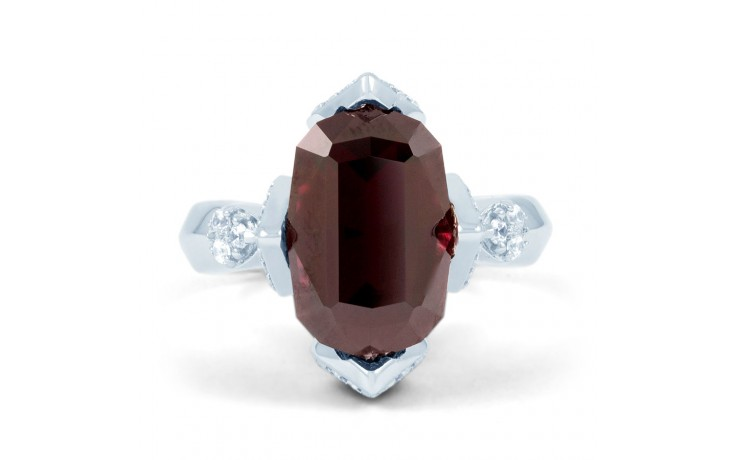 Rhodolite Garnet Cocktail Ring product image 1