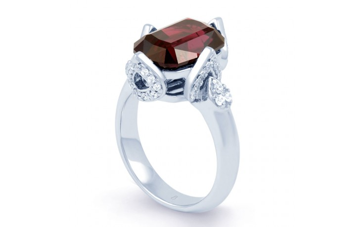 Rhodolite Garnet Cocktail Ring product image 2