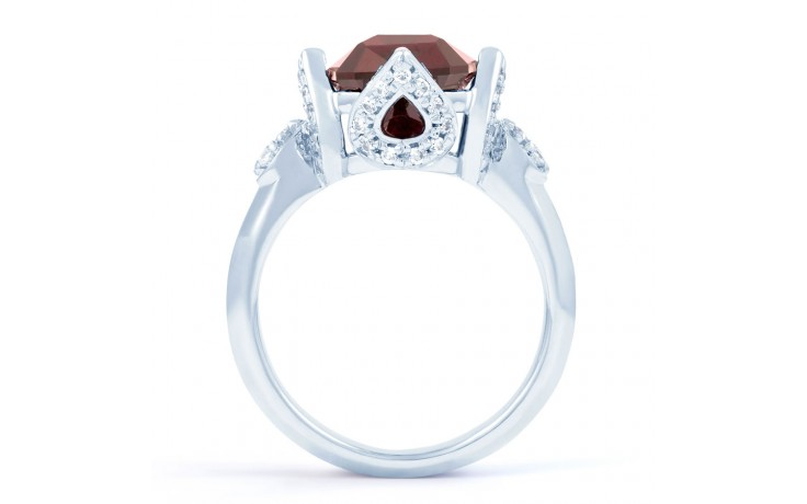 Rhodolite Garnet Cocktail Ring product image 3