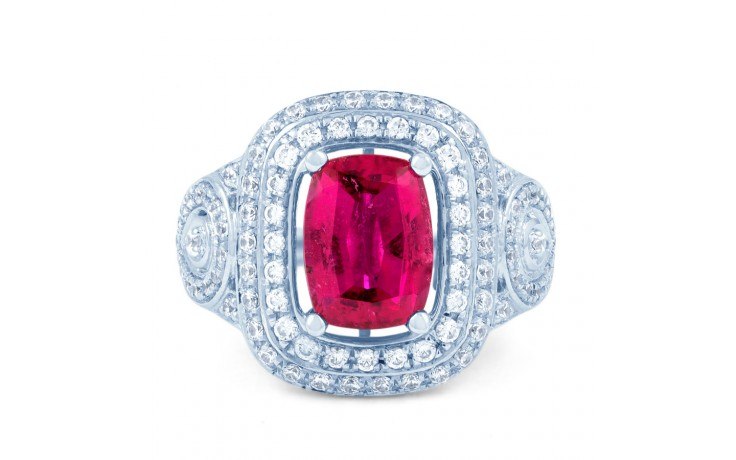 Rubellite Tourmaline Cocktail Ring product image 1