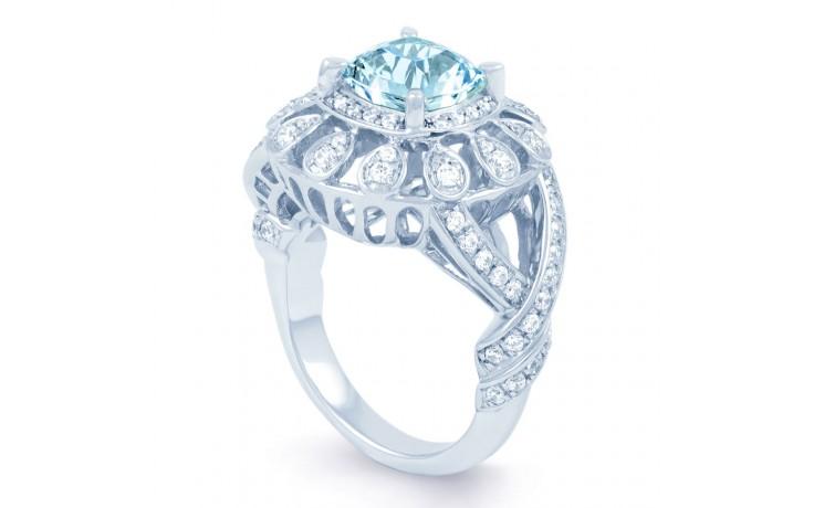 Aquamarine Cocktail Ring product image 2