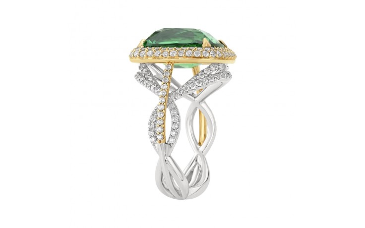 Thalia Tsavorite Garnet Ring product image 3