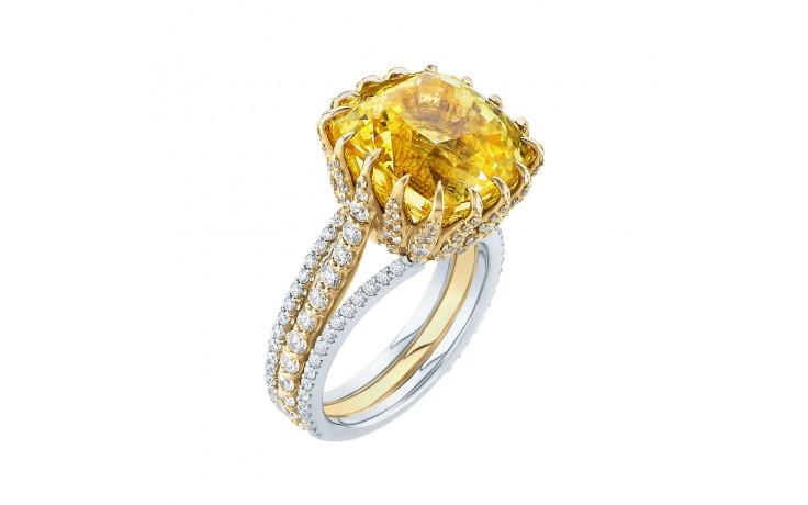 Lagina Yellow Sapphire Ring product image 2