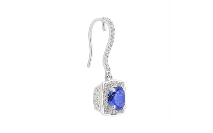 Rya Blue Sapphire Earrings product image 2