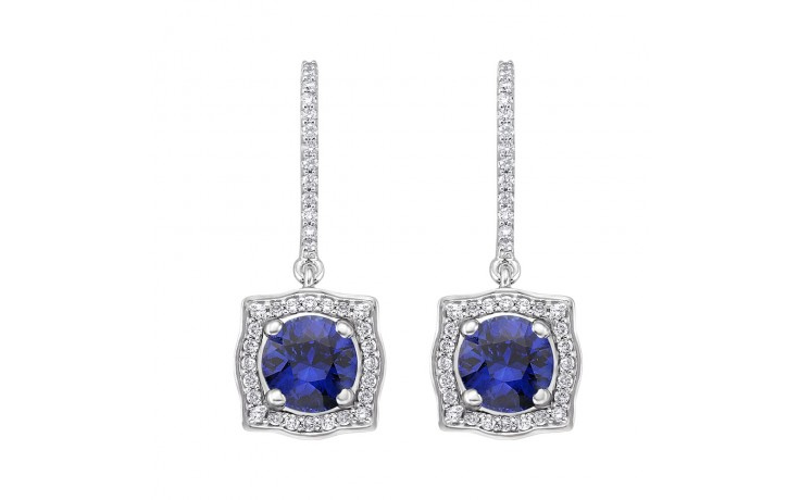 Rya Blue Sapphire Earrings product image 1