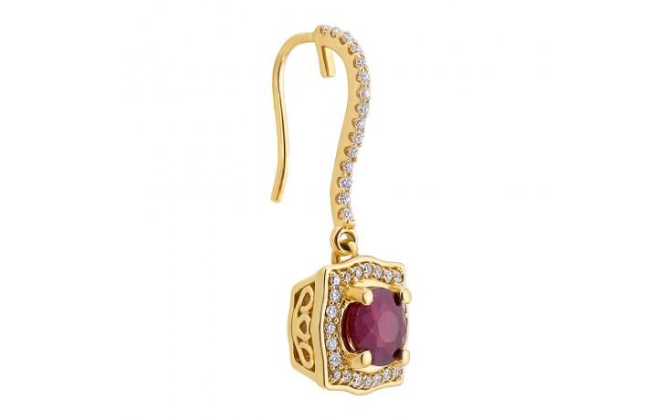 Milena Ruby Earrings product image 2