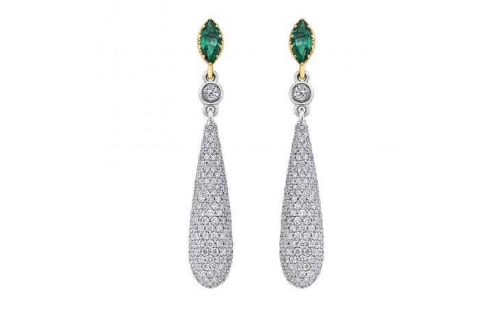 Eaden Emerald Earrings product image 1