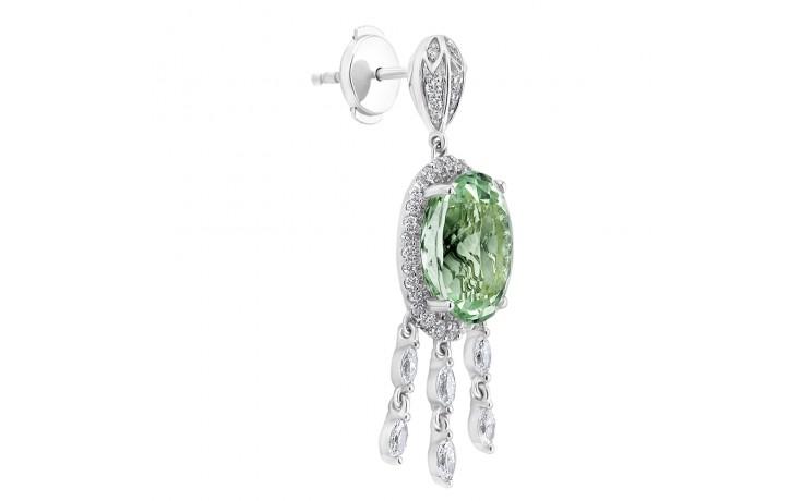 Alana Mint Tourmaline Earrings product image 2
