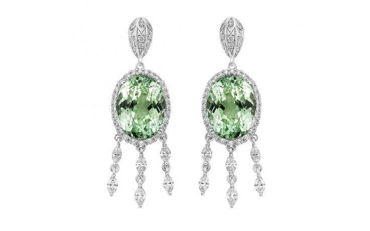 Alana Mint Tourmaline Earrings product image 1