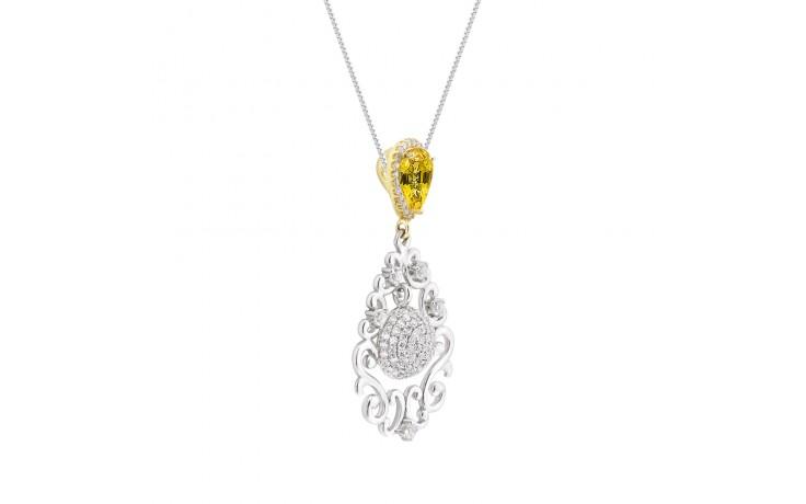 Darya Yellow Sapphire Pendant product image 2