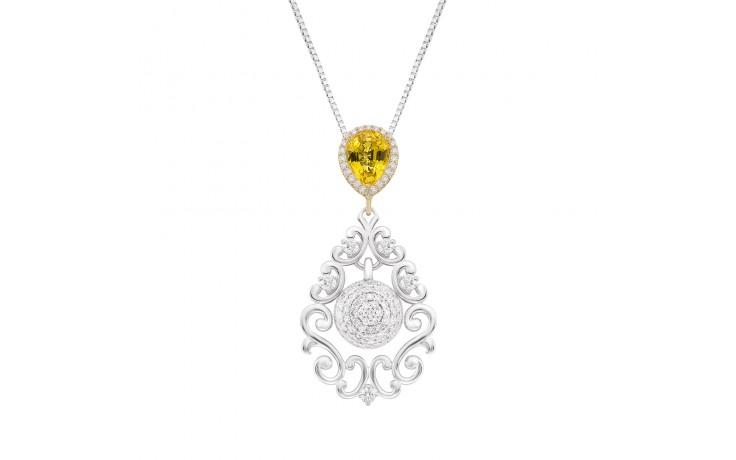 Darya Yellow Sapphire Pendant product image 1