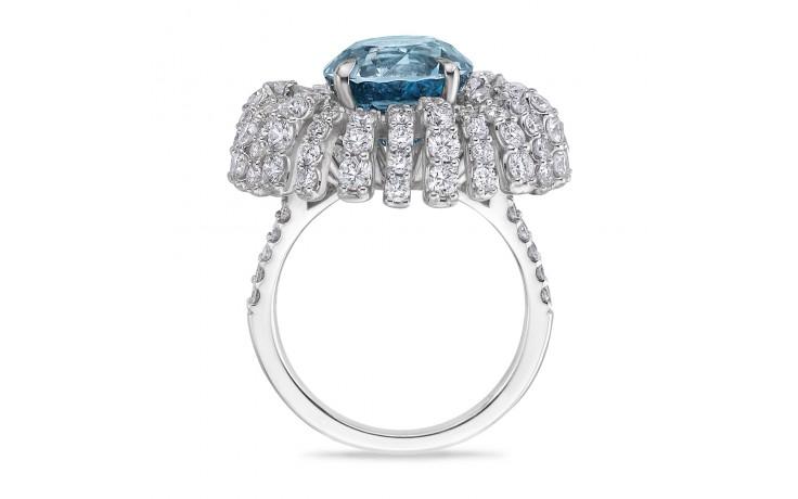 Tara Blue Zircon Ring product image 4
