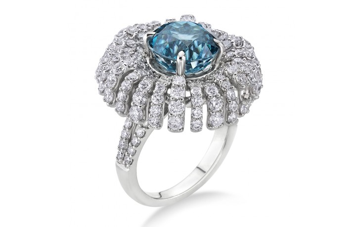 Tara Blue Zircon Ring product image 2