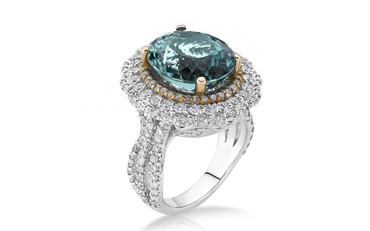 Daenerys Green Tourmaline Ring product image 2
