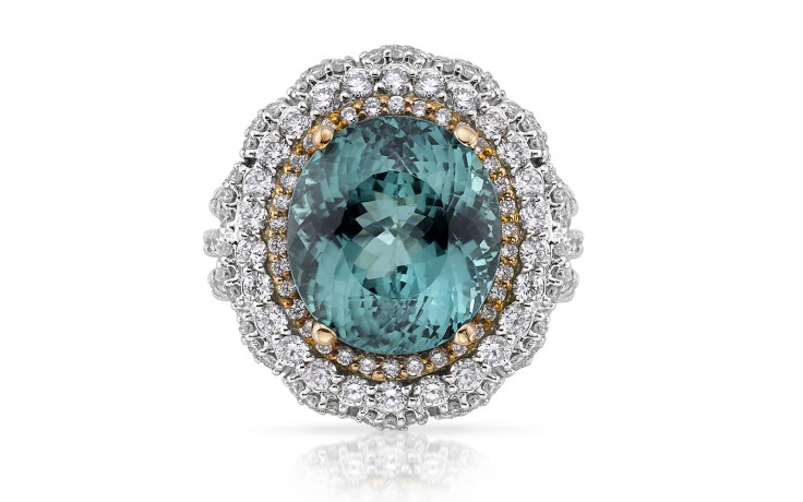 Daenerys Green Tourmaline Ring product image 1