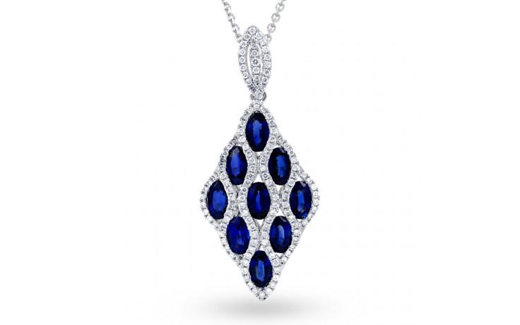 Vogue Blue Sapphire Pendant product image 2
