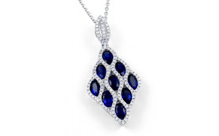 Vogue Blue Sapphire Pendant product image 1