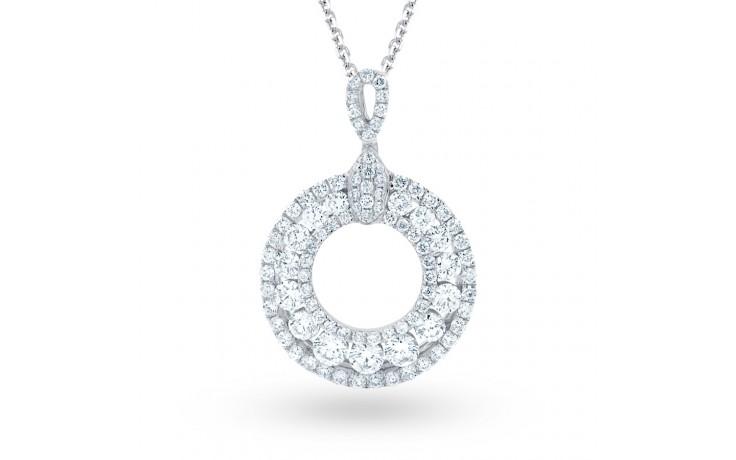 Circle of Fire Diamond Pendant product image 2