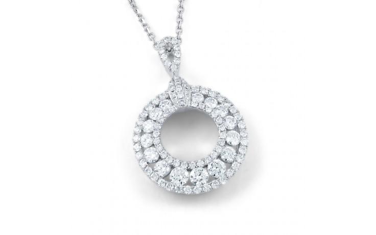 Circle of Fire Diamond Pendant product image 1