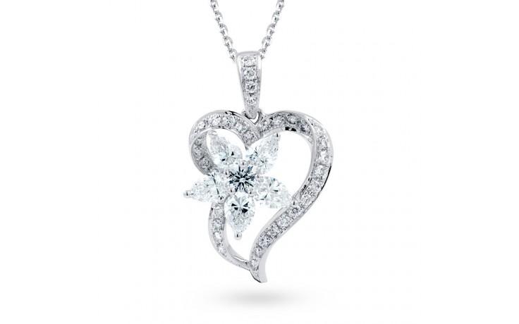 Aphrodite Heart Floral Pendant  product image 2