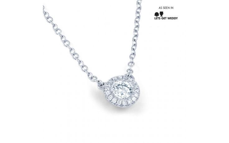 Diamond Halo Pendant product image 1