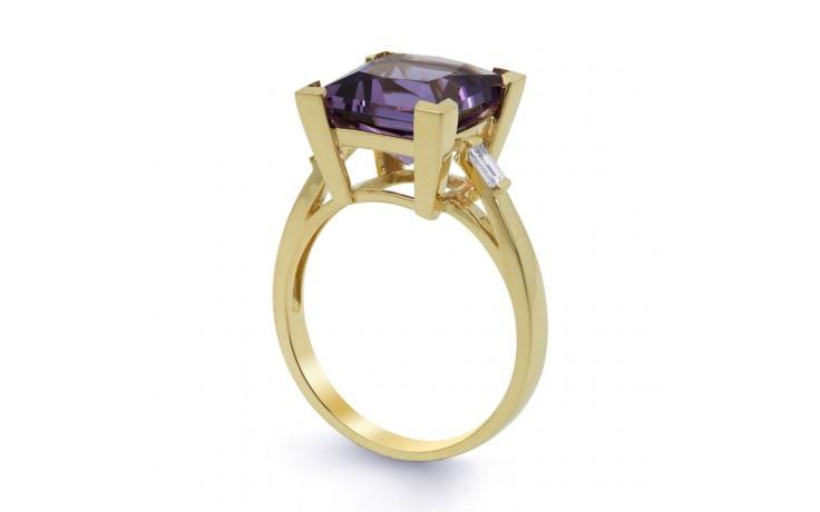 Amethyst Designer Gold Ring product image 2