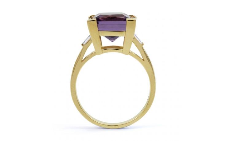 Amethyst Designer Gold Ring product image 3