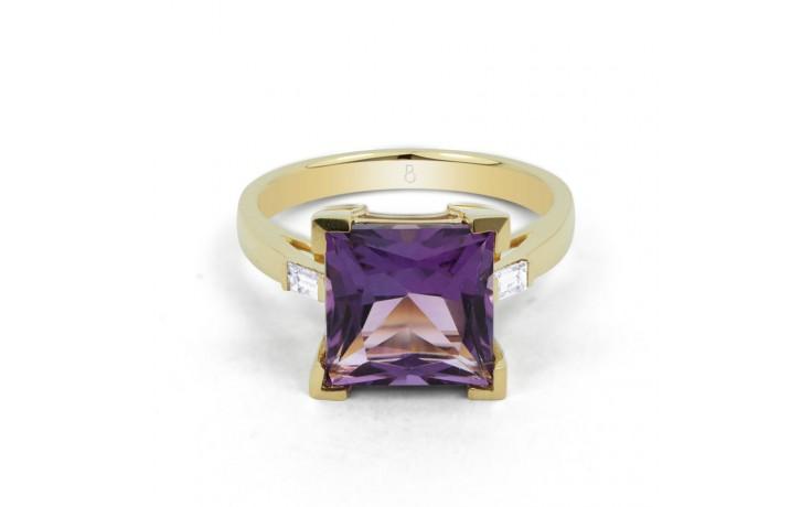 Amethyst Designer Gold Ring product image 1