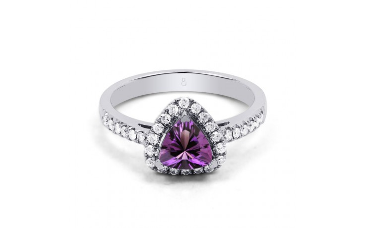 Amethyst Trillion Ring product image 1