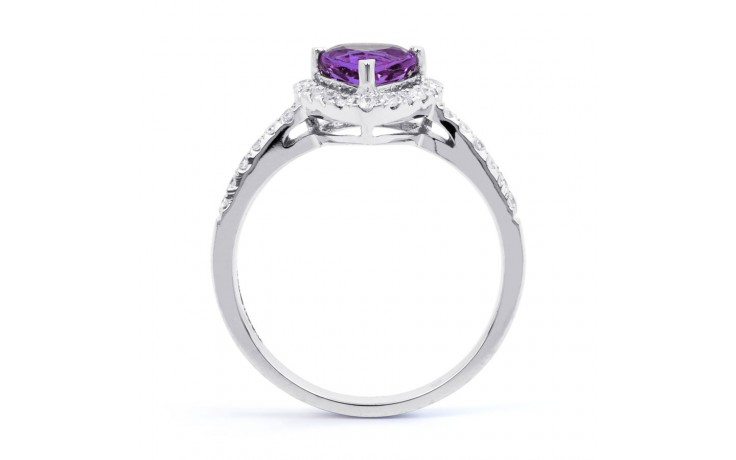 Amethyst Trillion Ring product image 3