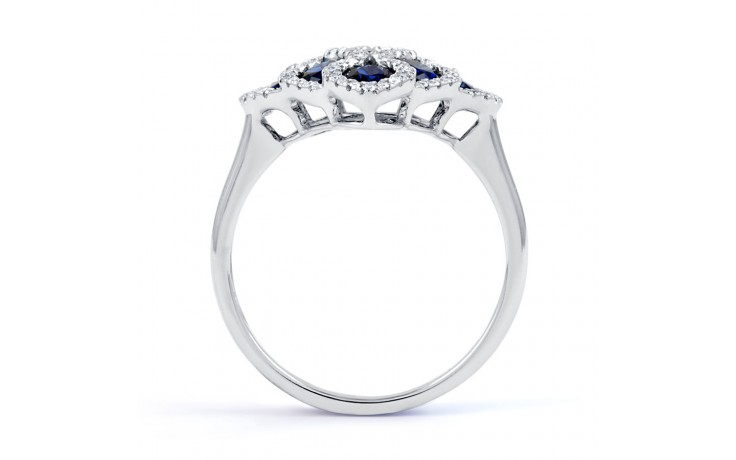 Vogue Blue Sapphire Cocktail Ring product image 3