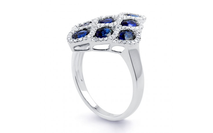 Vogue Blue Sapphire Cocktail Ring product image 2
