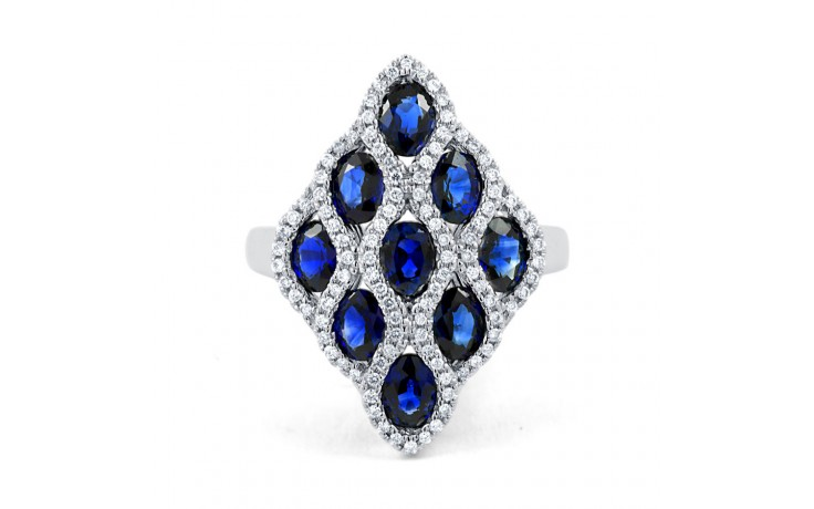 Vogue Blue Sapphire Cocktail Ring product image 1