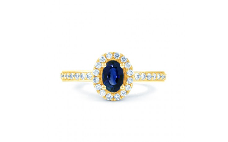 Allure Blue Sapphire Gold Ring product image 1