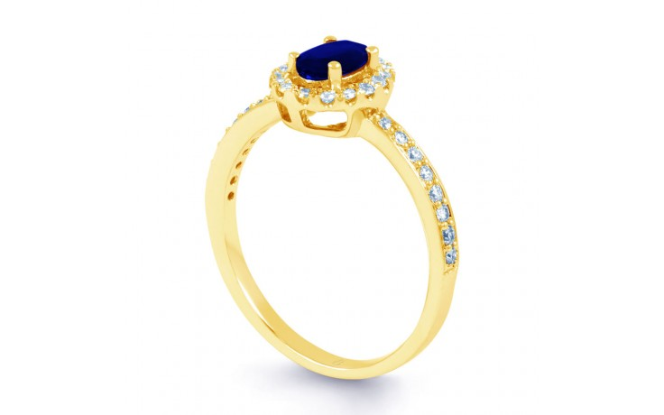 Allure Blue Sapphire Gold Ring product image 2