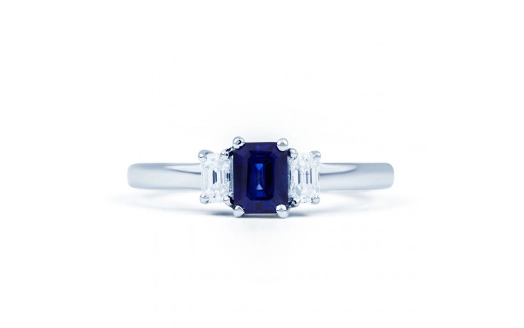 Octagon Sapphire Ring product image 1