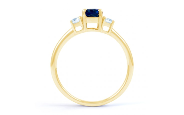 Octagon Sapphire Gold Ring product image 3