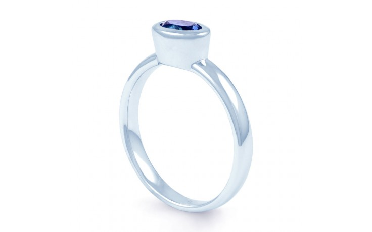 Blue Sapphire Birthstone Ring product image 2
