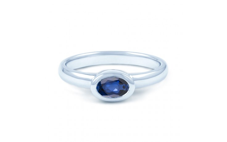 Blue Sapphire Birthstone Ring product image 1