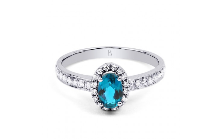 Allure Blue Topaz Ring product image 1
