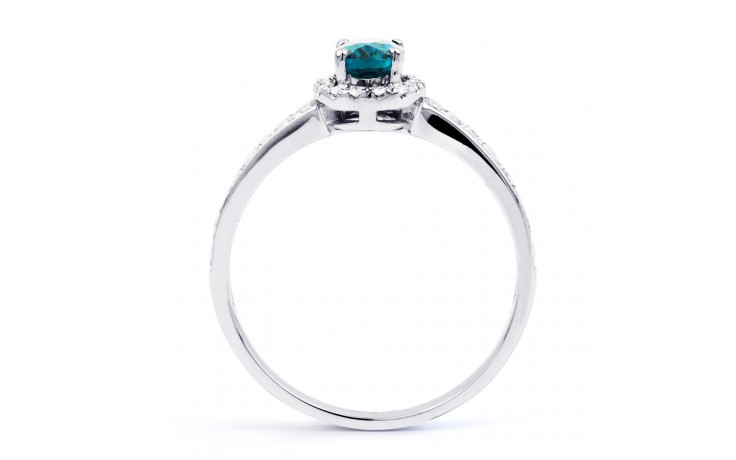 Allure Blue Topaz Ring product image 3