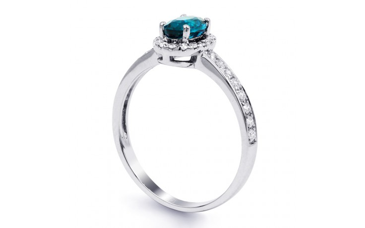 Allure Blue Topaz Ring product image 2