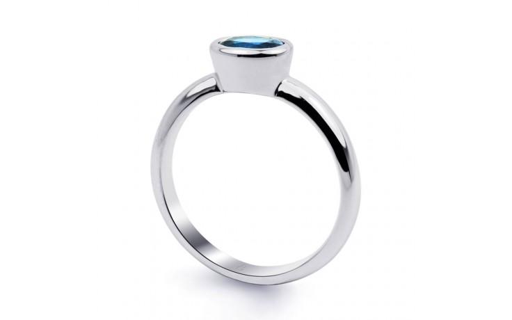 Blue Topaz Birthstone Ring  product image 2
