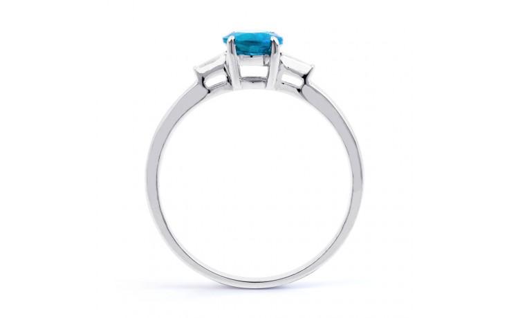 Blue Topaz & Diamond Ring product image 3