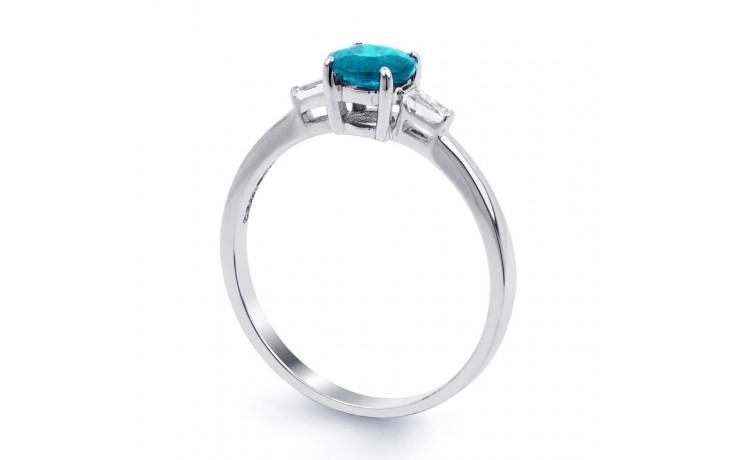 Blue Topaz & Diamond Ring product image 2