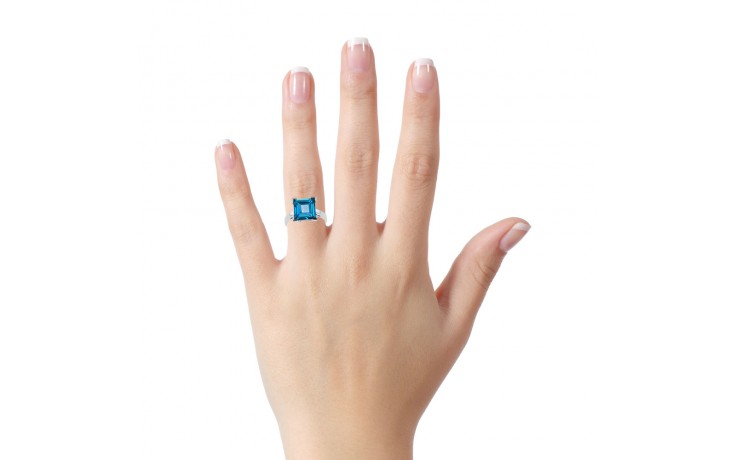 Blue Topaz Designer Ring product image 4