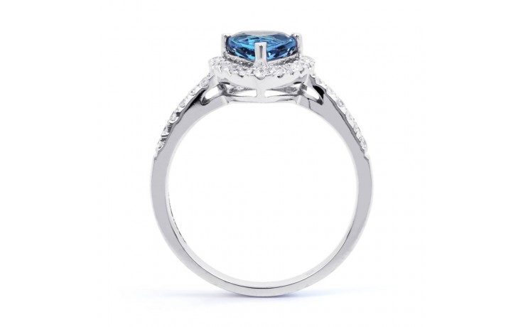 Blue Topaz Trillion Ring  product image 3