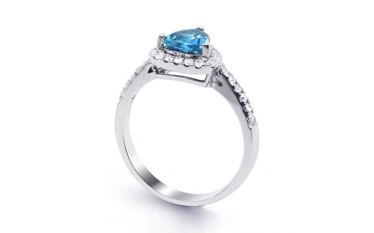 Blue Topaz Trillion Ring  product image 2