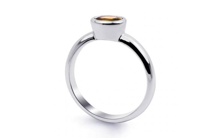 Citrine Birthstone White Gold Ring product image 2