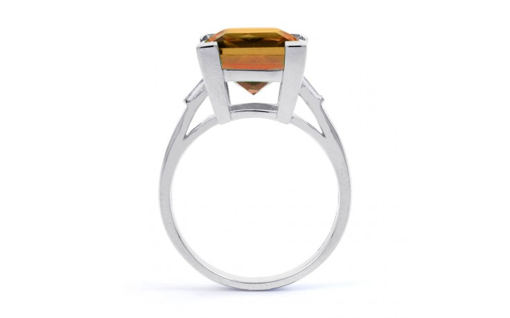 Citrine & Diamond Designer Ring  product image 3